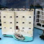 Maquette du fort Boyard. Photo Fortification et Mémoire.