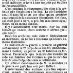 Extrait du journal L'impartial du 13 mars 1887.